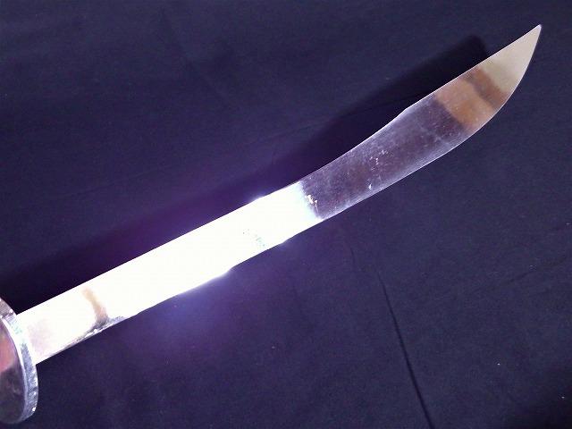 演武刀(下) 伝統拳/太極拳/演武用/良い音/少林寺/短器械