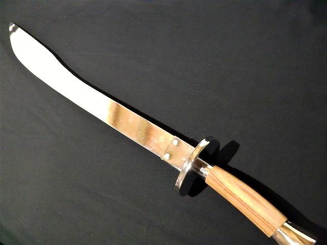 演武刀(アルミ) 長拳/伝統拳/太極拳/演武用/良い音/少林寺/短器械