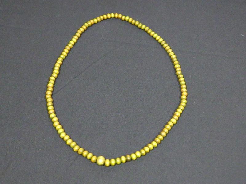 数珠 首かけ/長い/土産/木製/仏教/少林寺