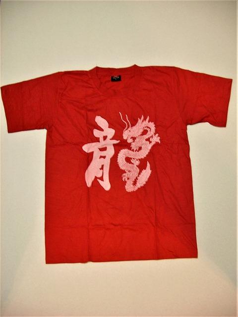 龍Tシャツ カンフー/少林寺/Tシャツ/練習用/龍/大人用