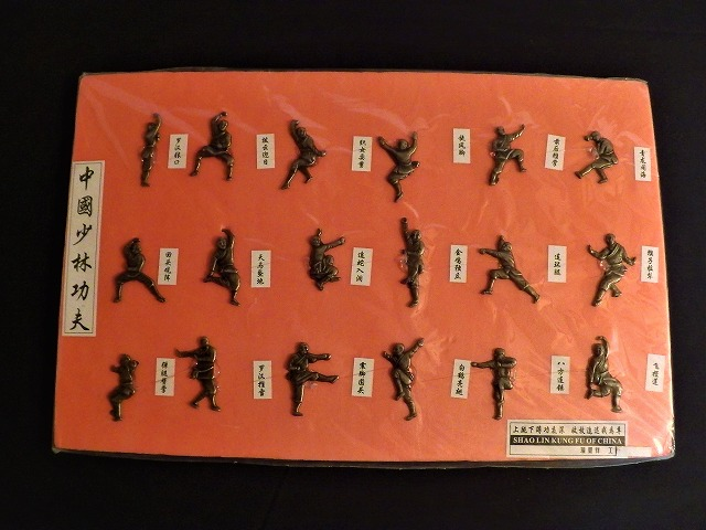 型・古代武器飾り 土産/紹介/少林寺/伝統拳/器械/古代/中国/歴史