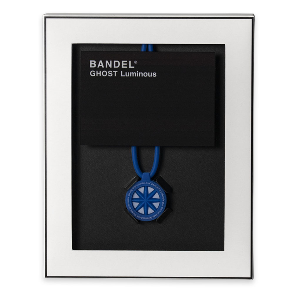 BANDEL ネックレス GHOST Luminous Blue Edition #MAKEITBLUE