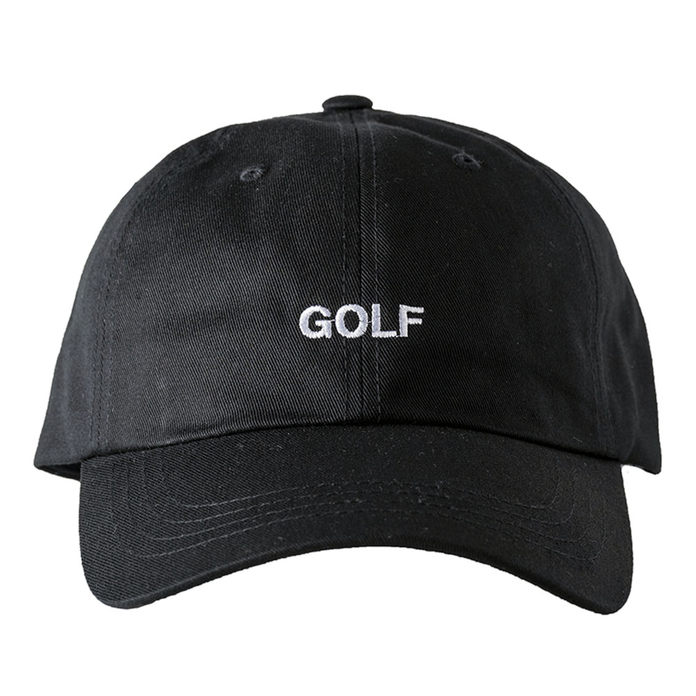 BANDEL キャップ GOLF CLASSIC LOW CAP BG-GFLCP BLACKxWHITE
