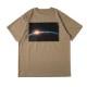 BANDEL Tシャツ S/S TEE Earth Photo Desigin BAN-T013 Sand Khaki