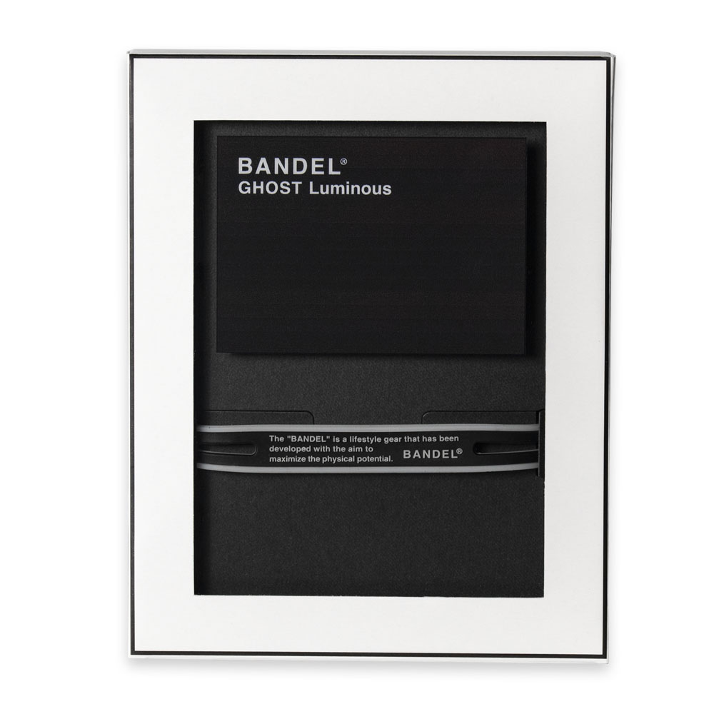 BANDEL ブレスレット GHOST Luminous Black