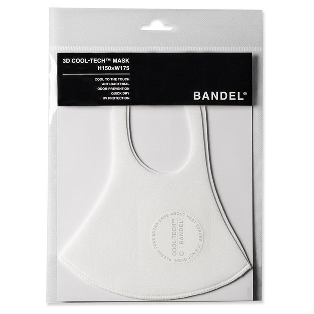 BANDEL 3D COOL TECH Mask Circle Logo DM004 WHITExGREY
