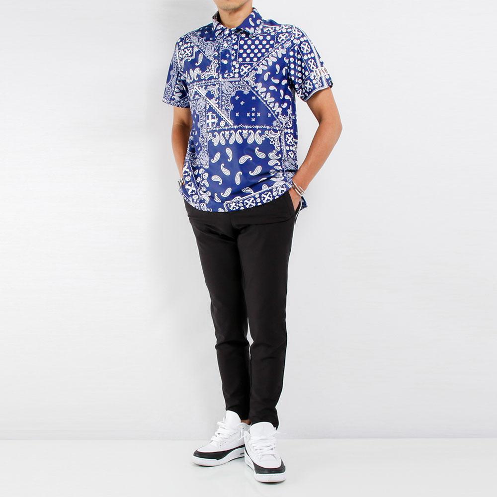 RESOUND CLOTHING パンツ Eddie PANTS RC21-ST-022 BLACKxWHITE