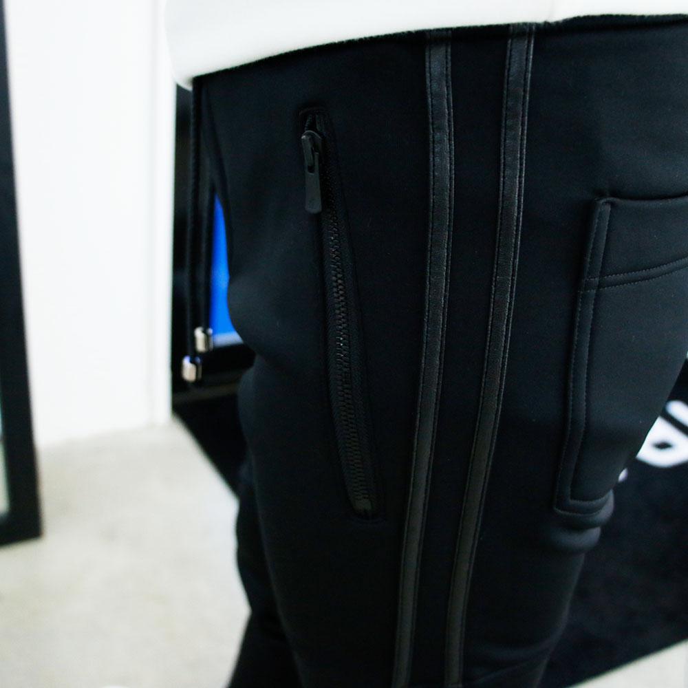 RESOUND CLOTHING パンツ Johnson LINE HEAT PT RC18-ST-009H BLACKxBLACK