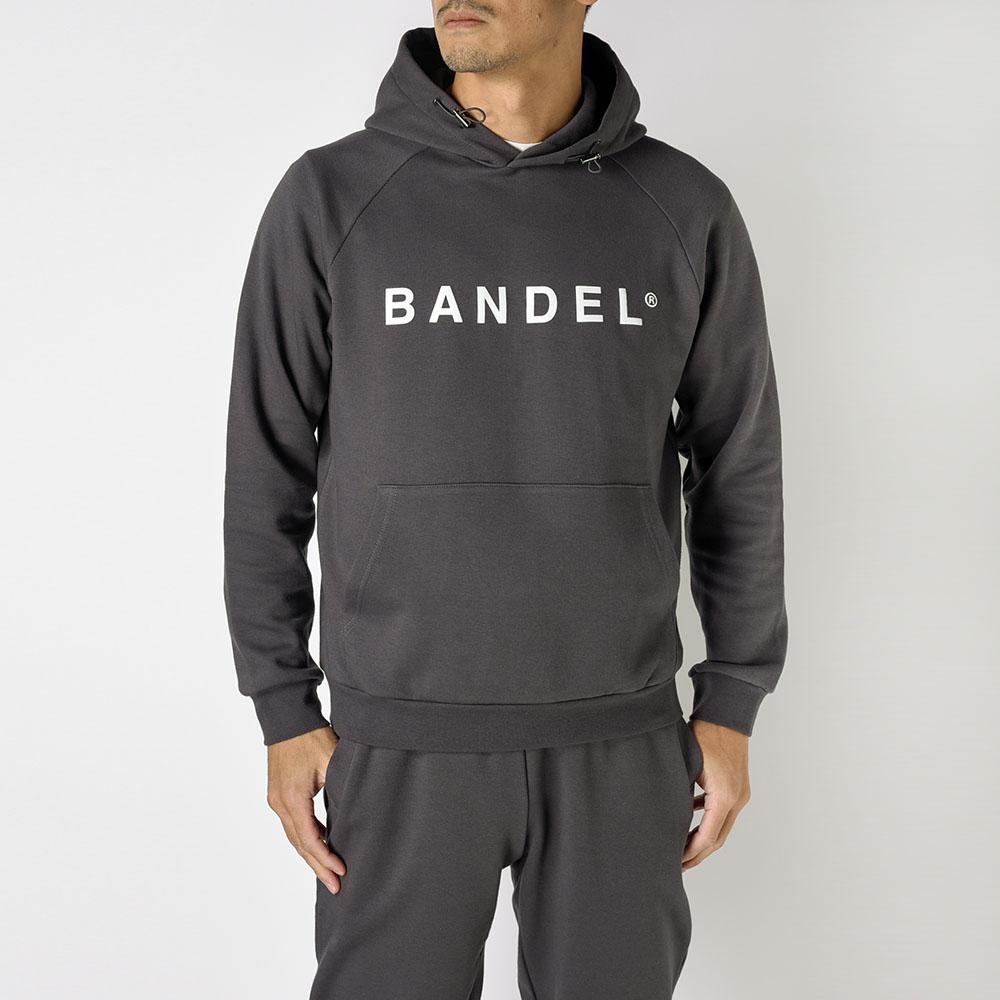 BANDEL フーディー Front Logo BAN-HD019 CHARCOAL GREY