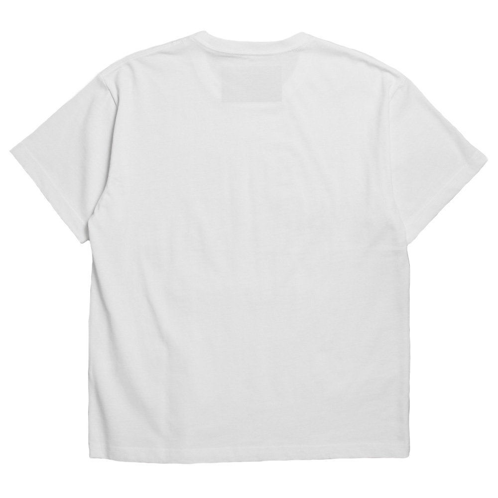 Seagreen Tシャツ ORGANIC COTTON JERSEY T-SHIRT MSEA21S8198-M  WHITE