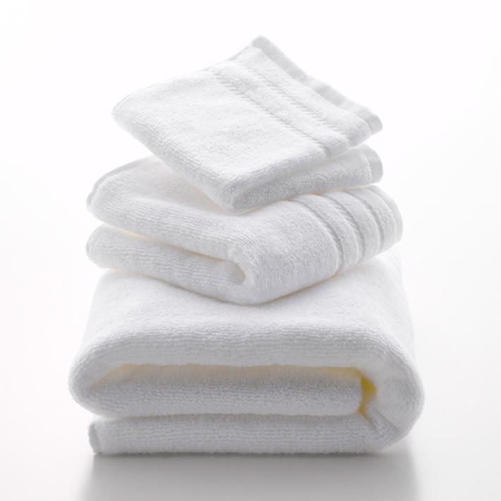 Micro Cotton マイクロコットン REGULAR レギュラー フェイスタオル WHITE/IVORY/MOCA