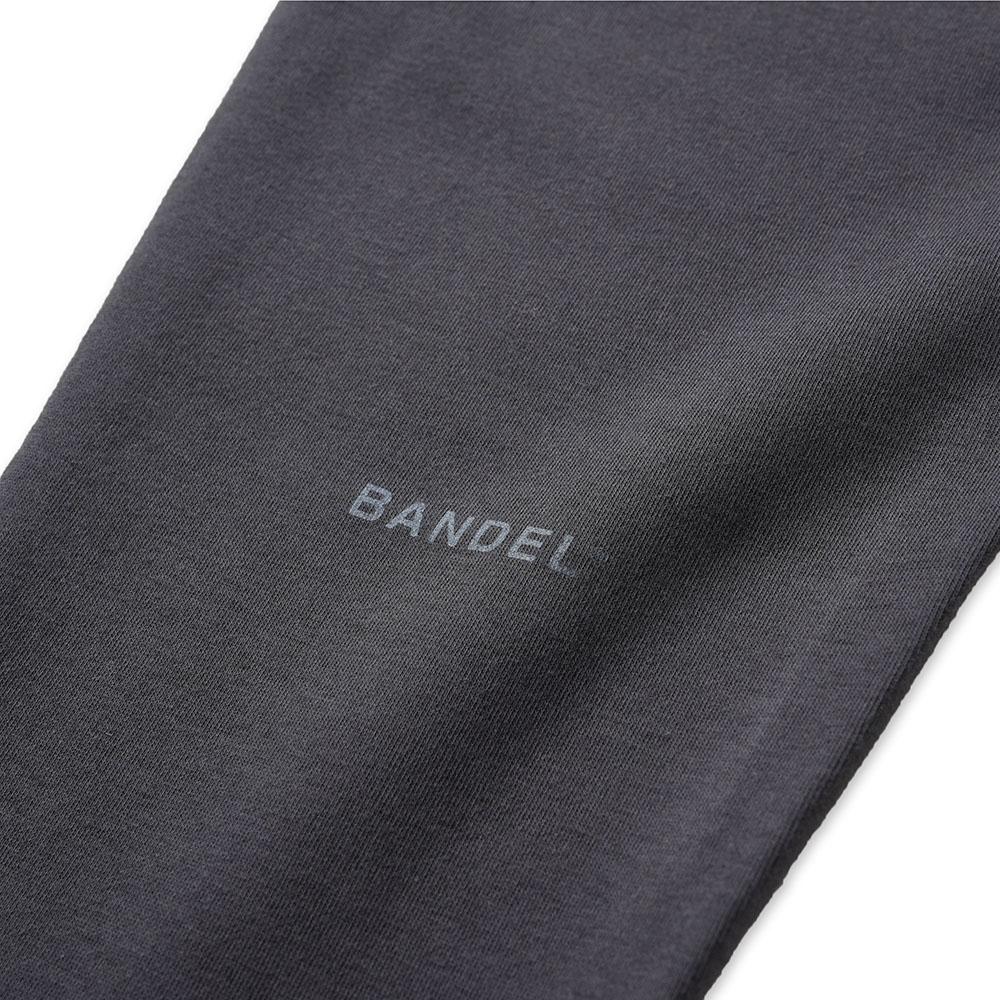 BANDEL ジョガーパンツ Calf Logo Print BAN-JP008 CHARCOAL GREY