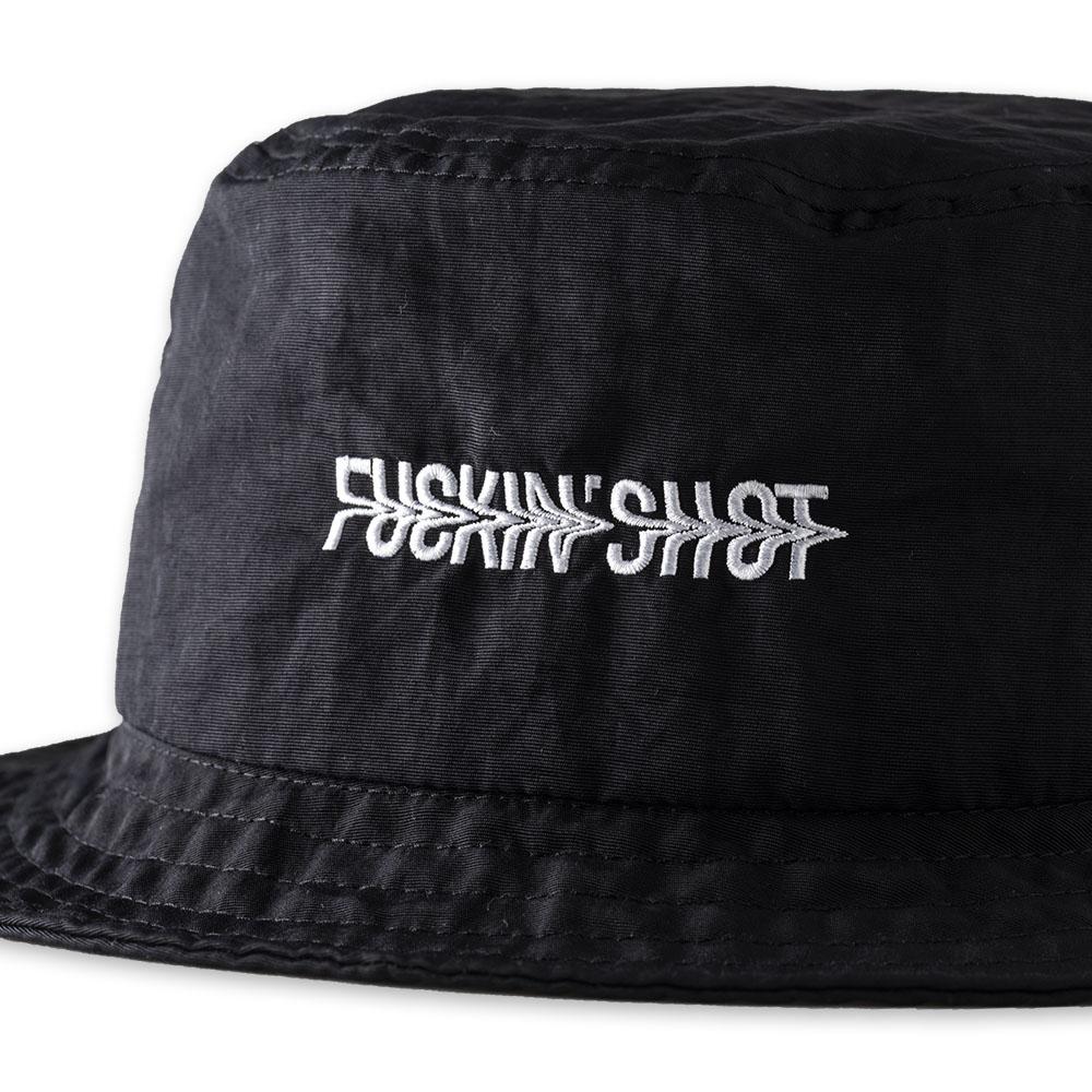 BANDEL バケットハット FUCKIN'SHOT BUCKET HAT BG-FSBH BLACKxWHITE