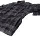 STAMPD シャツ Cropped Plaid Sherpa Button D SLA-M2697BD BLACKxGRAY