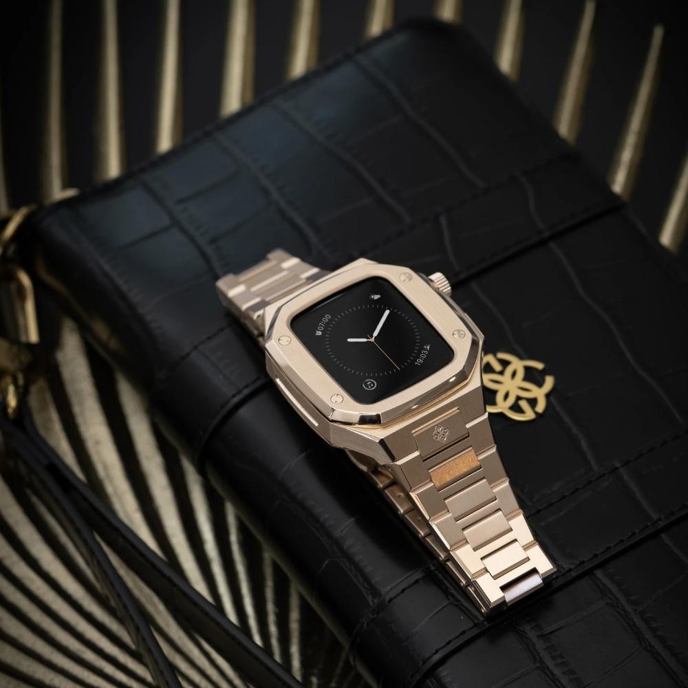 GOLDEN CONCEPT<br>Apple Watch Case-EV40(ROSE GOLD)