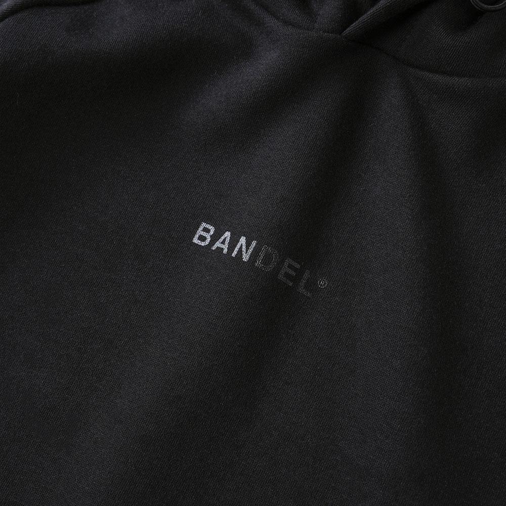 BANDEL フーディー Small Logo BAN-HD020 BLACK