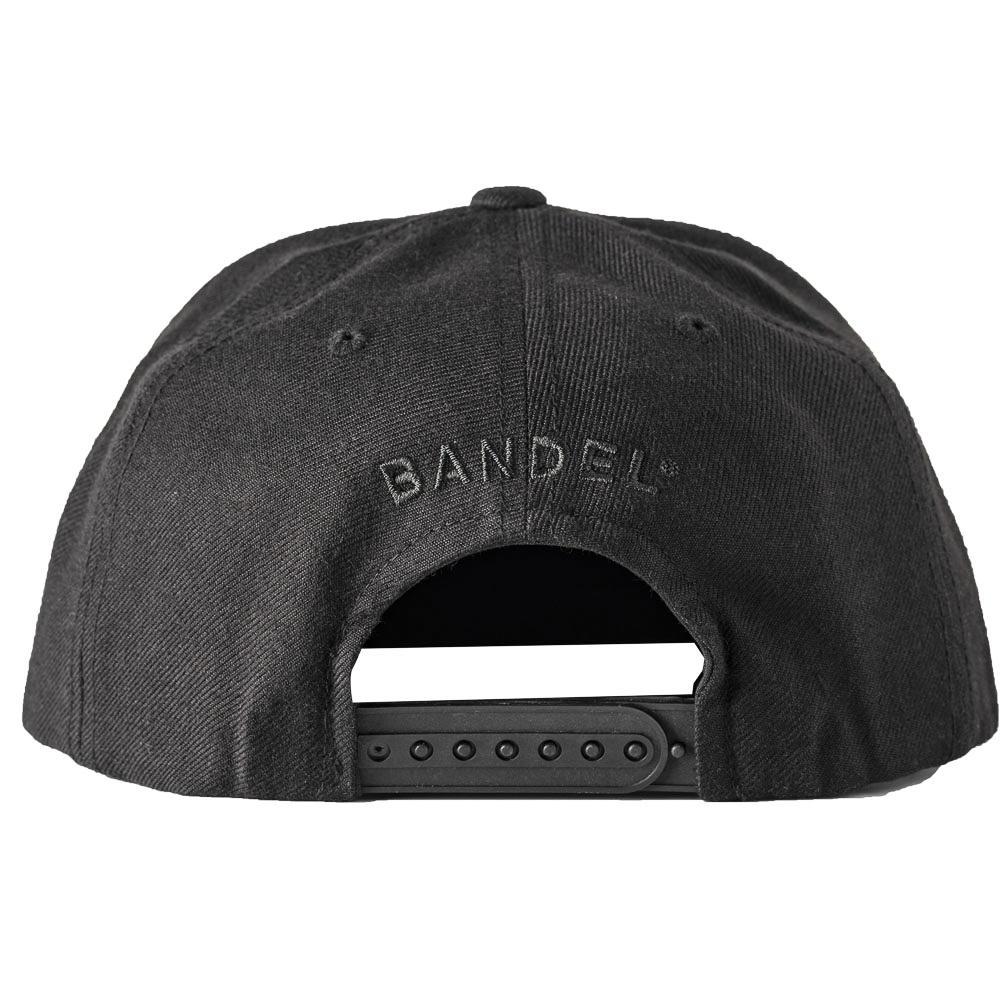 BANDEL キャップ FLAT VISOR GOLF CAP FUCKIN'SHOT BG-FSBBCP BLACKxBLACK