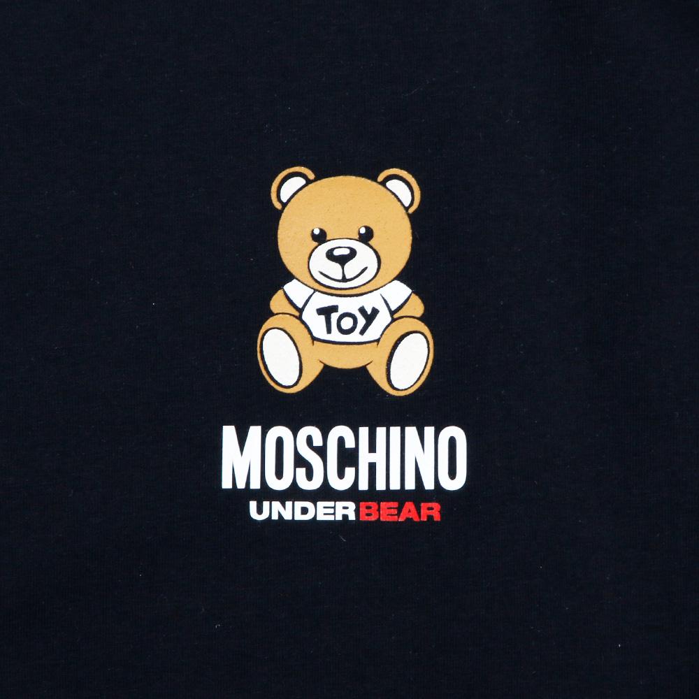 MOSCHINO UNDERWEAR ロンT A1811 8126 BLACK