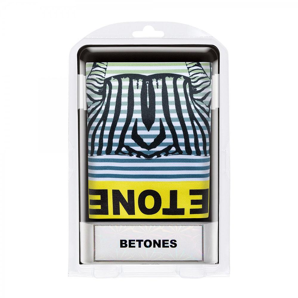 BETONES ボクサーパンツ ANIMAL D004 ZEBRA YELLOW