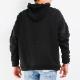 【10月中入荷/予約】RESOUND CLOTHING フーディー BOX ROGO Boa fleece loose hoodie RC21-C-002 BLACK