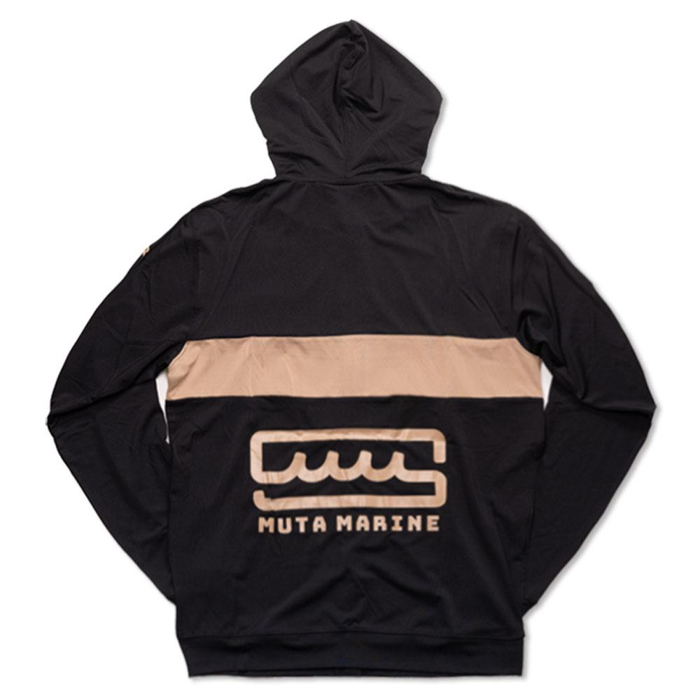 muta MARINE ラッシュパーカー MMTK-435039 BLACK