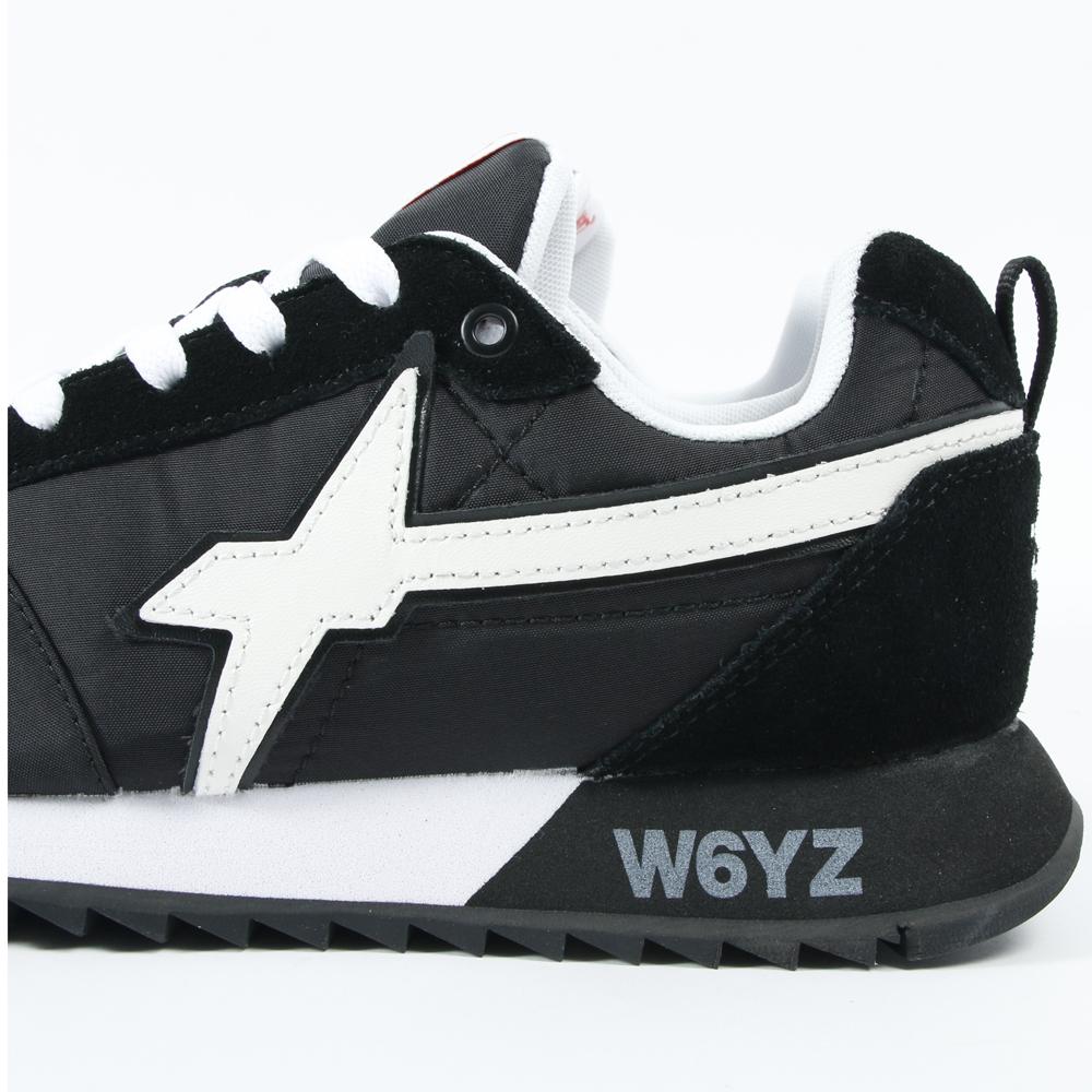 W6YZ スニーカー FLY-M 02-1A06 NERO-BIANCO