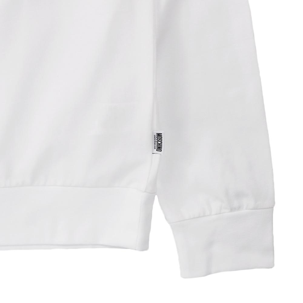 MOSCHINO UNDERWEAR ロンT A1811 8126 WHITE