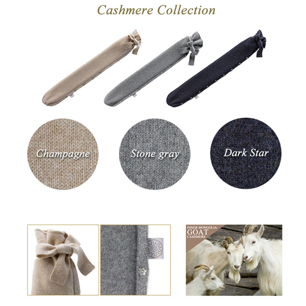 YUYUBOTTLE ユーユーボトル 湯たんぽ  Cashmere Collection