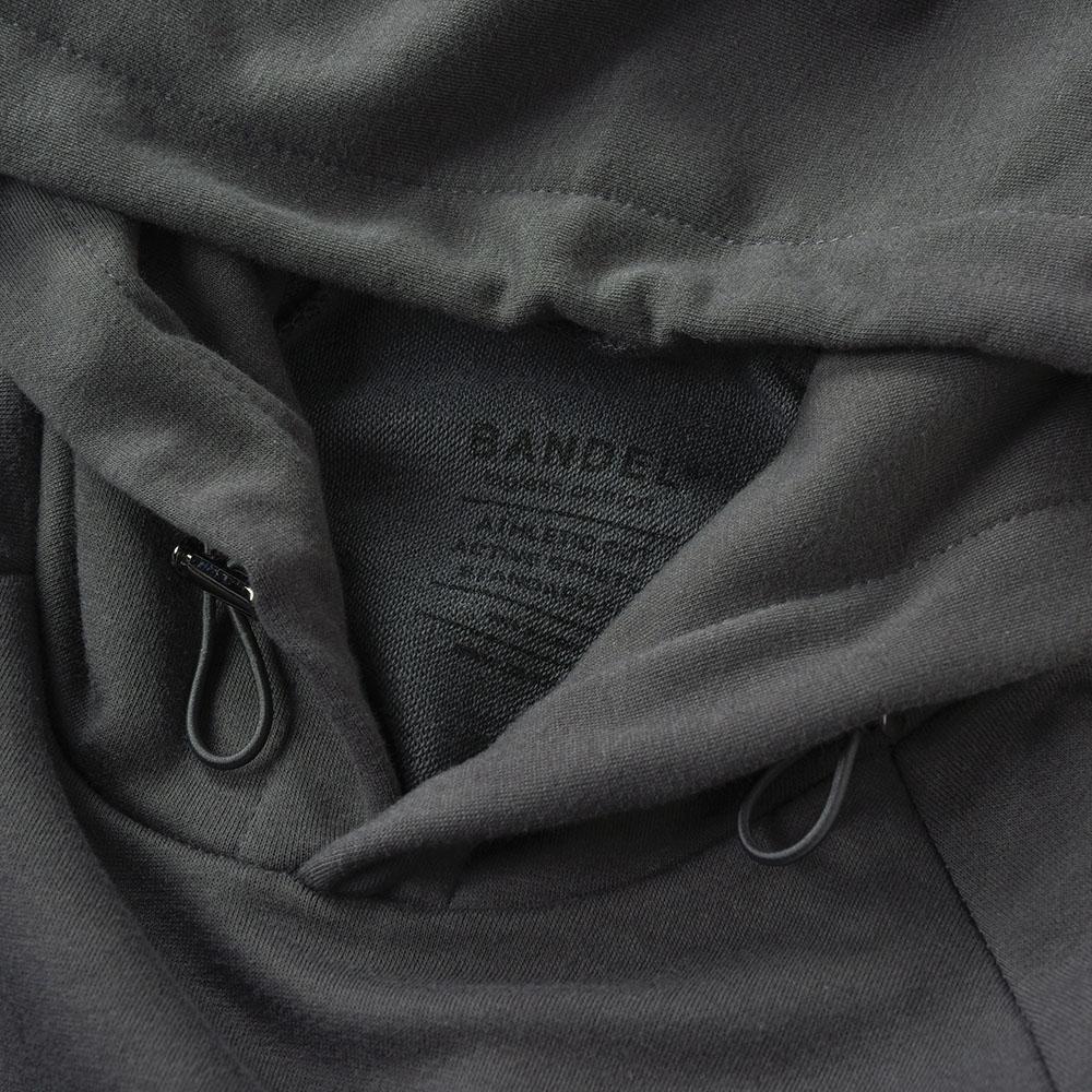 BANDEL フーディー Small Logo BAN-HD020 CHARCOAL GREY