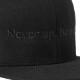 BANDEL キャップ FLAT VISOR GOLF CAP Never up,Never in BG-NUBBCP BLACKxBLACK