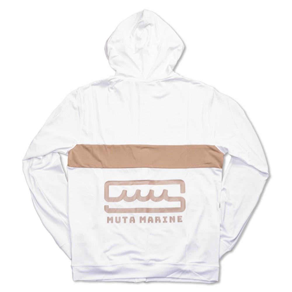 muta MARINE ラッシュパーカー MMTK-435039 WHITE