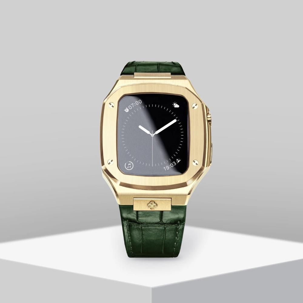 GOLDEN CONCEPT<br>Apple Watch Case-CL40(GOLD/GREEN)
