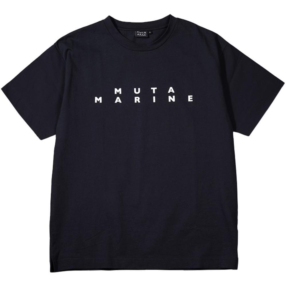 muta MARINE Tシャツ スリーブ切替 MMBC-200847 BLACK