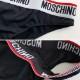 MOSCHINO パンツ ウエストロゴ A4712 レディース BLACK