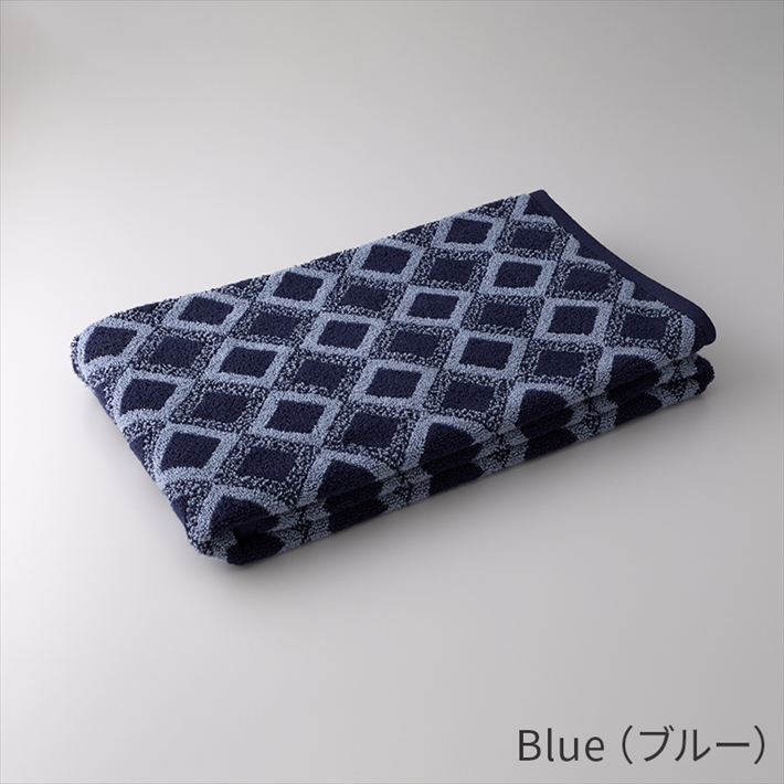Micro Cotton マイクロコットン ジャガード バスタオル PINK/BEIGE/BLUE/GRAY