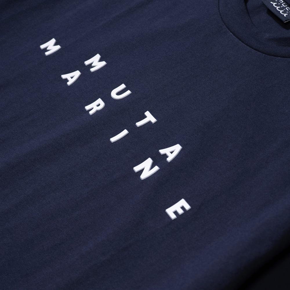 muta MARINE Tシャツ スリーブ切替 MMBC-200847 NAVY