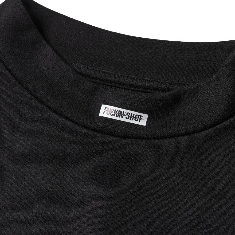 BANDEL Tシャツ FUCKIN SHOT MOC TEE BG-MTFS001 BLACK