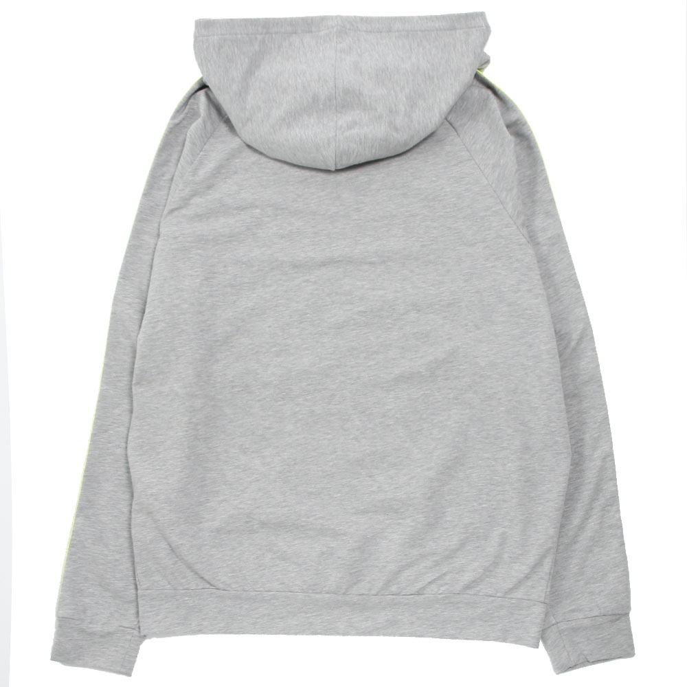 MSGM UNDERWEAR ジップアップフーディー HOODED SWEATSHIRT MM.MK2.006 GREY
