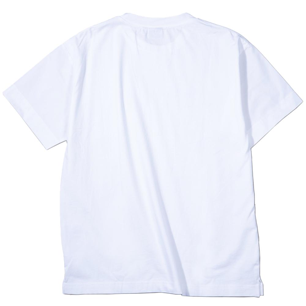 muta MARINE Tシャツ スリーブ切替 MMBC-200847 WHITE