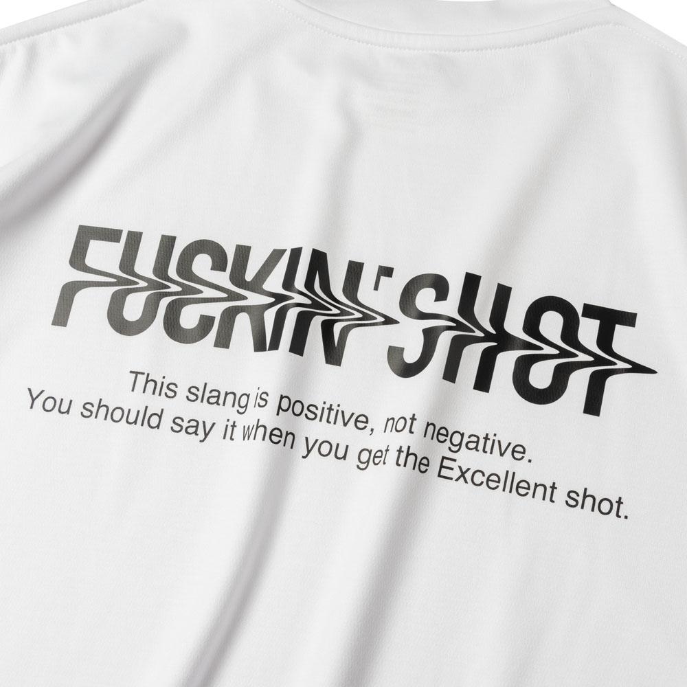 BANDEL Tシャツ FUCKIN SHOT MOC TEE BG-MTFS001 WHITE