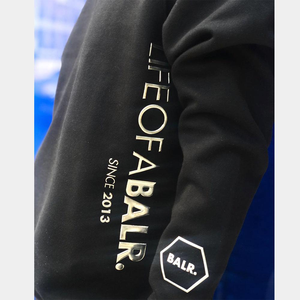BALR. スウェット CC BALR. STRAIGHT CREW NECK BLACK