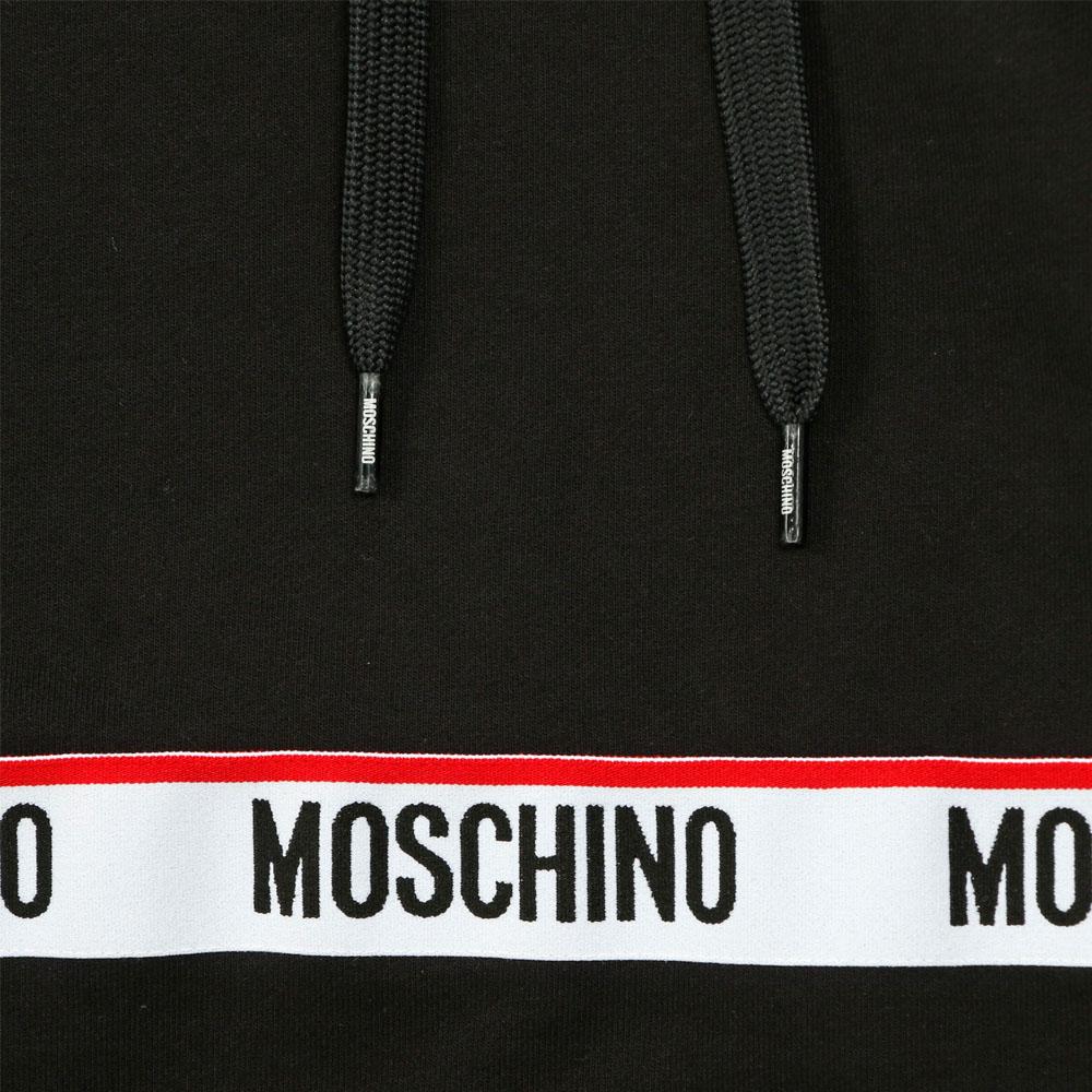 MOSCHINO UNDERWEAR フーディー 17128120555 BLACK