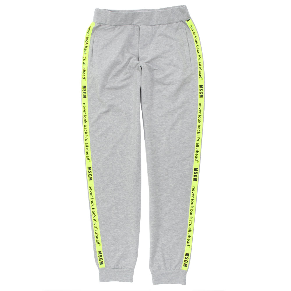 MSGM UNDERWEAR スウェットパンツ SWEATPANTS MM.N84.006 GREY