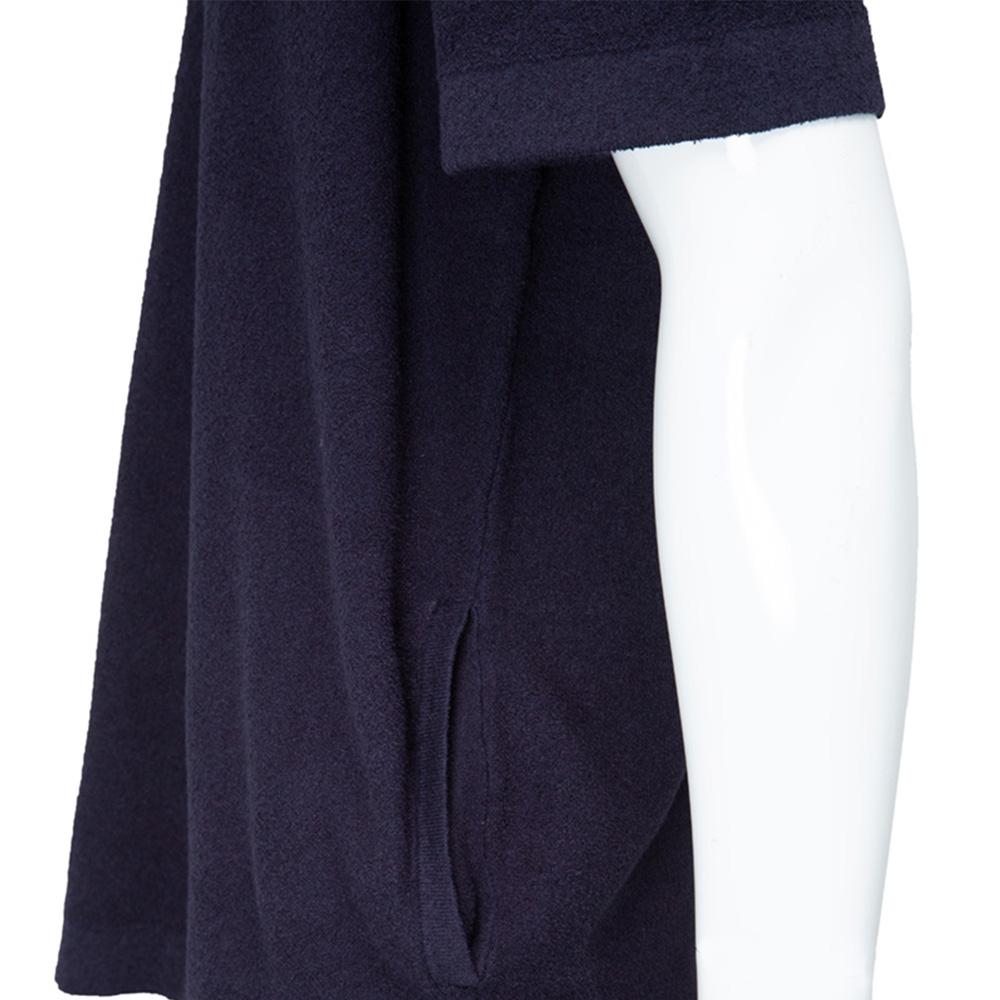 muta MARINE Tシャツ パイルオーバーサイズ MMTK-443068 NAVY