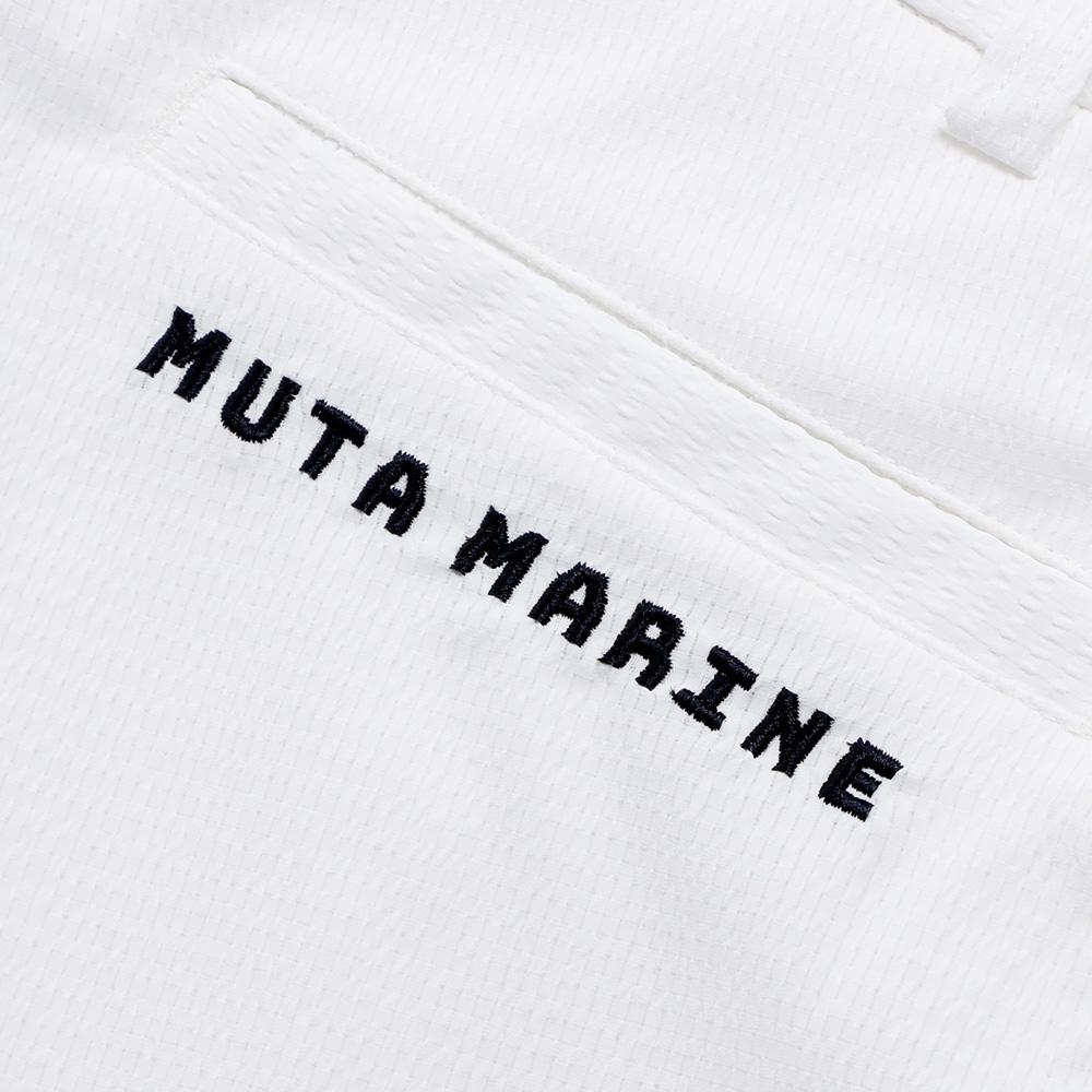 muta MARINE DotAir® ハーフパンツ MMMK-444059 WHITE