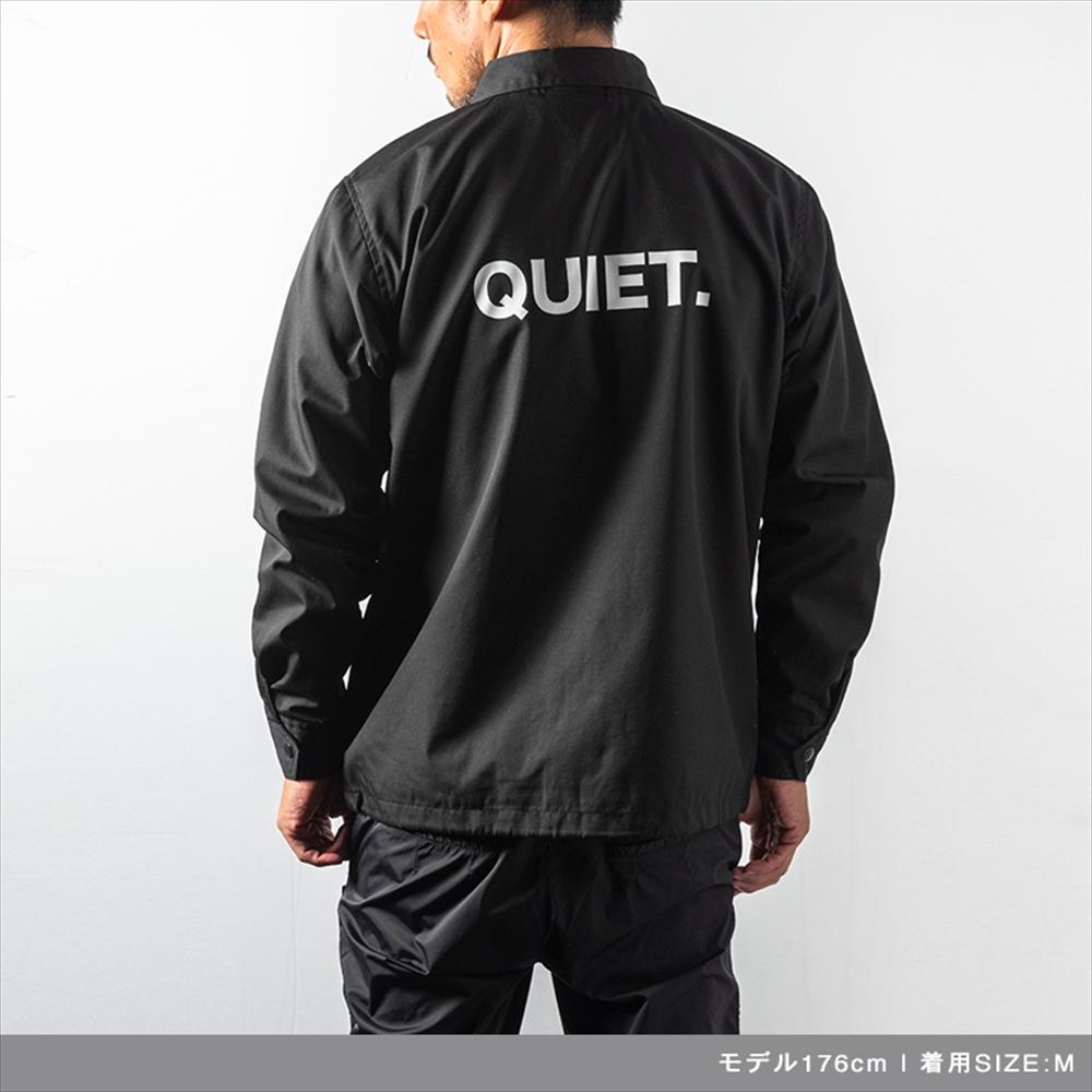 BANDEL ジャケット QUIET COACH JKT BG-QTCJ001 BLACKxWHITE