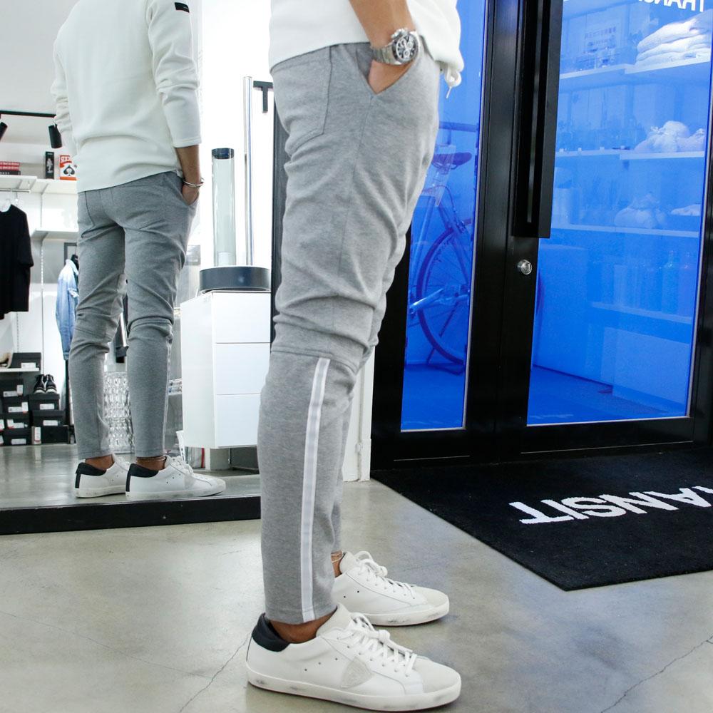 RESOUND CLOTHING パンツ Audio PANTS RC18-ST-017 GREY