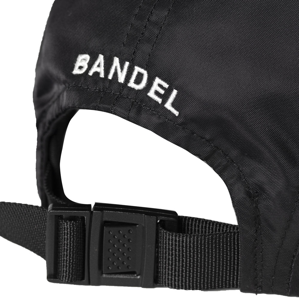 BANDEL キャップ FUCKIN'SHOT Nylon 5panel Golf cap BG-FS5PCP BLACKxWHITE