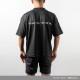 BANDEL Tシャツ Never up,Never in BACKPRINT MOC TEE BG-MTNI001 BLACK