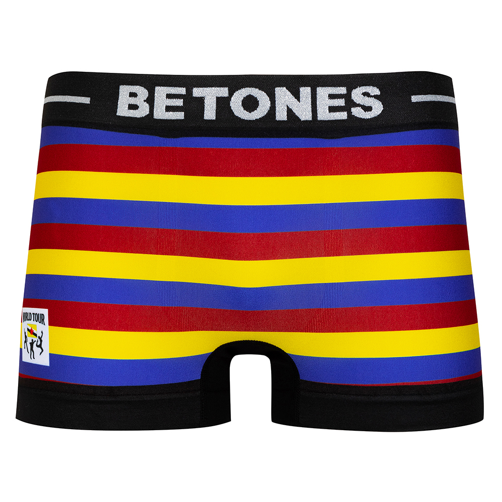 BETONES ボクサーパンツ WORLD TOUR BRUNEI BRU004 BLUE